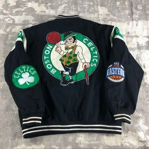 Vintage Boston Celtics Varsity Jacket